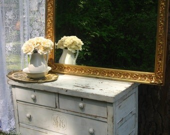 X-L Traditional Gold Mirror Shabby Chic Mantel Mirror