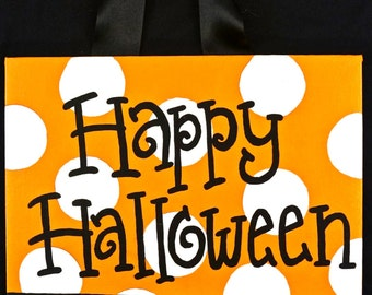 Halloween signs out of candy sign halloween decor halloween