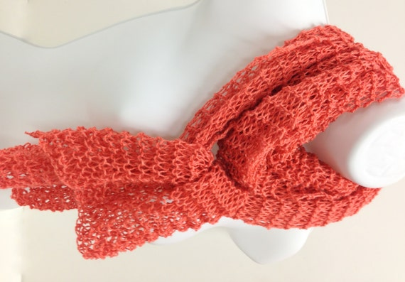 Knitting Pattern Lightweight Scarf : Unavailable Listing on Etsy