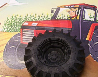 Tractor Tire Soap Handmade Glycerin Bar Farmer Farm Agriculture Men Monster Truck U Pick Scent