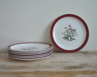 """Vintage Wedgwood Ruby Mayfield - Dinner Plate 10"""""""