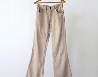 Levi's corduroys, 1980s cords, vintage corduroy pants waist 29