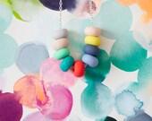 heidi handmade bead necklace
