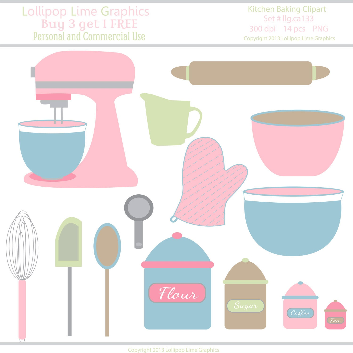 clipart kitchen utensils free - photo #42