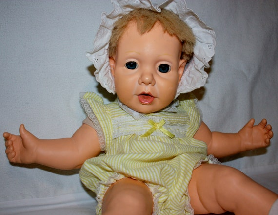 Vintage 1985 Hasbro Real Baby Doll With By Gifthorsevintage