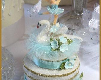 Swan Lake Cake Topper