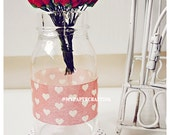 Mulberry paper mini Red Rose Buds flower / pack
