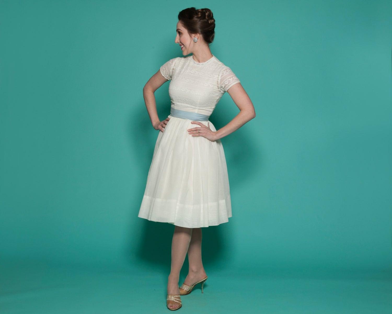 RESERVED Vintage 1960s Wedding Dress Lace Bolero By