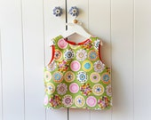 Baby Apron / vest / Funky green