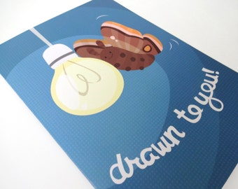 Drawn to You! A5 Greetings Card