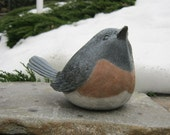 Bird Statue, Concrete Bird, Garden Decor, Concrete Statues, Cement Bird, Statues For The Garden, Birdbath Bird, Garden Statues, Bluebird Art