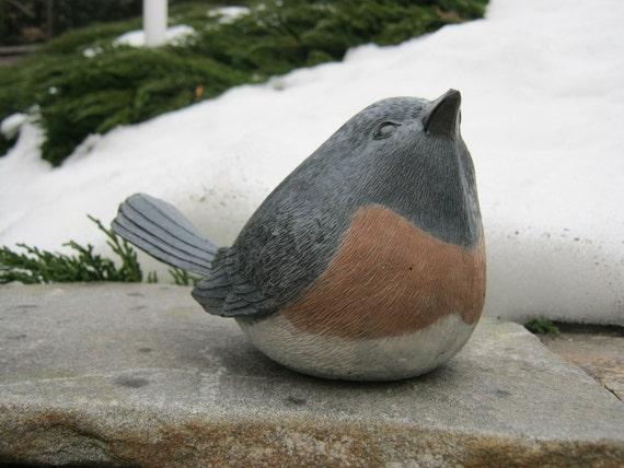 Bird Statue Concrete Bird Garden Decor Concrete Statues