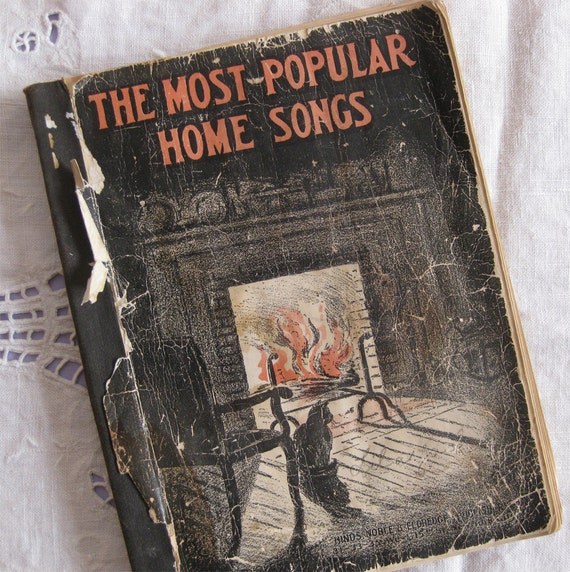 items similar to the most popular home songs vintage