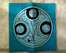 Duct Tape Gallifreyan Time Lord Wallet