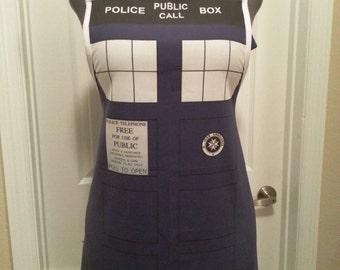 Police Call Box apron