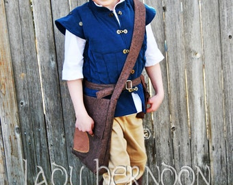 Flynn Rider Costume - Sizes 2T, 3T, 4T, 5, 6, 7, 8 and 10