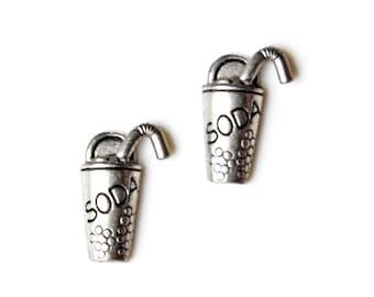 Soda Cufflinks - Gifts for Men - Anniversary Gift - Handmade - Gift Box Included
