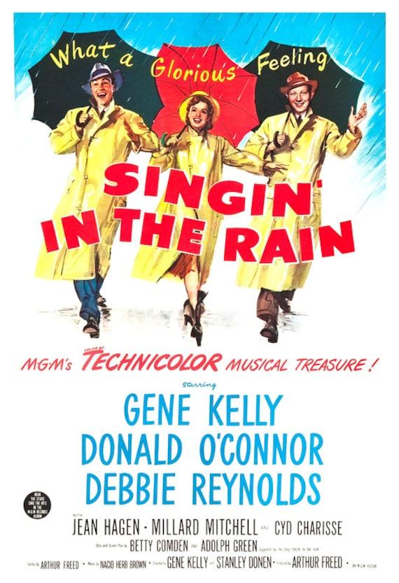 debbie reynolds chantons sous la pluie