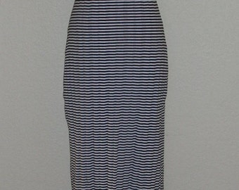 Sexy Summer Simplicity Black and White Striped Maxi Dress I'll be wearing mine in Paris!