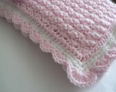 Crochet Pattern Baby Blanket Angel Wings Stitch Easy Crochet Pattern