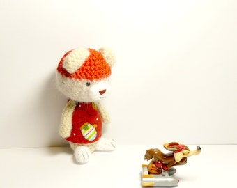 Teddy bear amigurumi crochet , Plush bear. crochet amigurumi Teddy Bear. toys gift ideas
