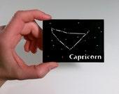 Capricorn Zodiac Astrology ACEO - Capricorn Art, Capricorn Astrology, Capricorn Constellation, Capricorn Stars, Capricorn Gift