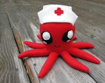 Red Nurse Plushie