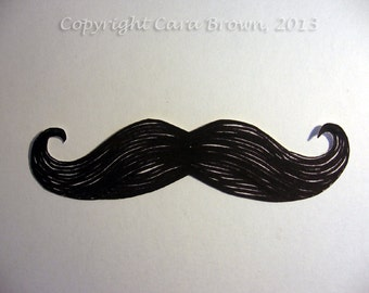 Mustache Sticker Vinyl Decal for car window bumper or ipad Moustache