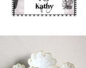 Vintage Bowl Set White Gold Nippon Reservd For Kathy