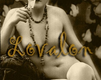 MATURE... You Light Me Up... Instant Digital Download... Vintage Nude Photo... Erotic Photography Image by Lovalon