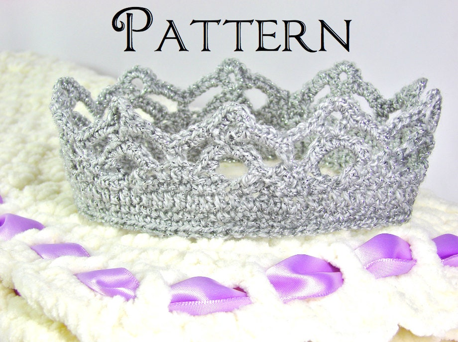 Free Crochet Child S Crown Pattern Dancox For