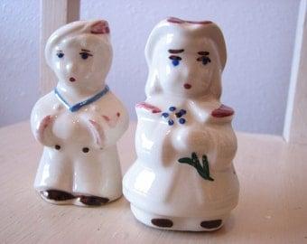 Shawnee Bo Peep & Sailor Boy Salt and Pepper Shakers