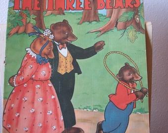 The Three Bears Cloth-Like Story Book