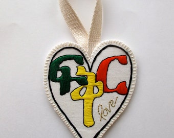 "Ethiopian heart Amharic word for love, ""Fikir"" for Valentine's Day  ornament or wall hanging home decor MADE TO ORDER"