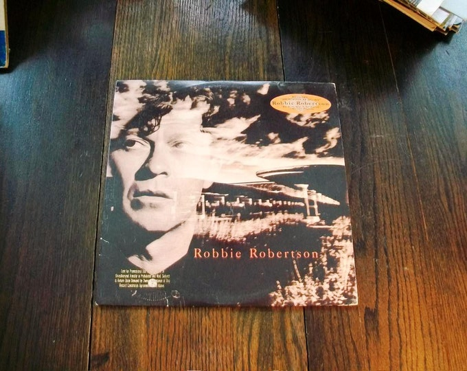 Robbie Robertson Record Album 1987 Vintage Vinyl