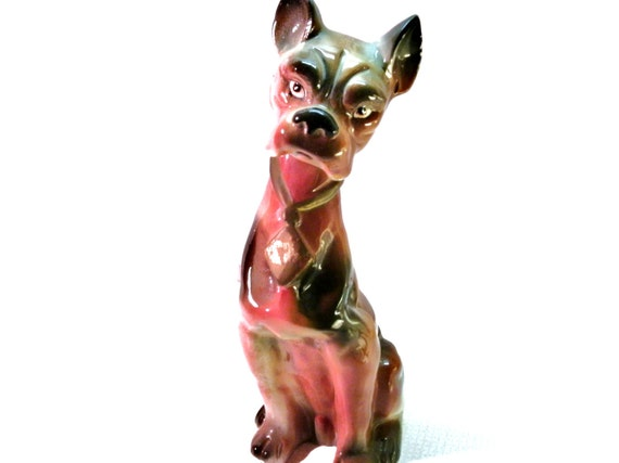 Vintage Boxer Dog Figurine, Collectibles, Animal Figurines,Dogs