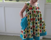 Girls Apple and Pear sundress/jumper sizes 10, 12 or 14