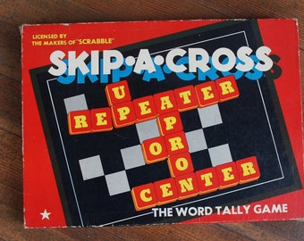 "Vintage Game ""SKIP-A-CROSS"" (Cadaco-Ellis 1953)"