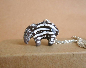 Baby Tapir Necklace