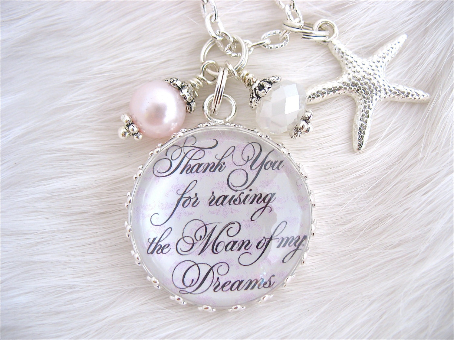Wedding Gift For My Son : MOTHER of the GROOM Gift Thank You for Raising the Man of my