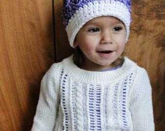 Crochet Hat for Girls, beanie, baby hat, kids hat, newborn hat, boys hat