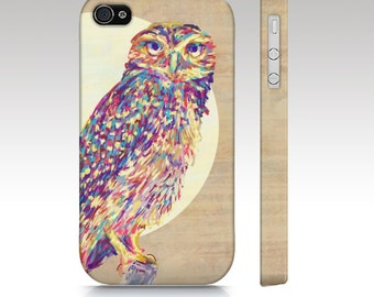 Owl iPhone 6s case, iPhone 6, owl iPhone 6 plus case, iphone 5s, iphone 5c, owl iphone case, colorful owl painting, owl art for your phone