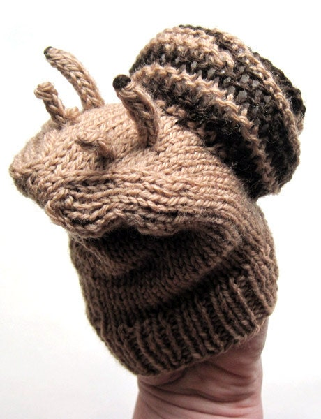 Knitting Pattern For Toy Snail : toddler toy knitting pattern SNAIL puppet knitting pattern