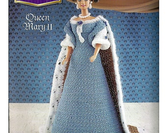 The Royal Court Collection Queen Mary II Fashion Doll  Crochet Pattern  Annies Attic