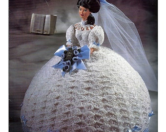 The Bridal Belle Collection Miss September Fashion Doll  Crochet Pattern  Annies Attic