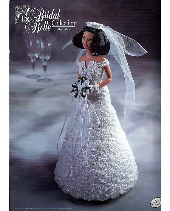 Dolly Bridal Collection: The Bridal Belle Collection Miss May Fashion Doll Crochet