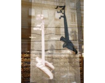 Paris print wall decor art Paris photography ballet wall art photo French decor ballet pointe shoe art dreamy photography 4x6 5x7 6x8 8x10