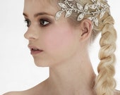 My Eternal Aphrodite bridal hair vine - Stunning leaf crown