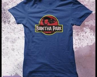 Star wars t shirt - Jurassic Park t-shirt - womens Bantha park