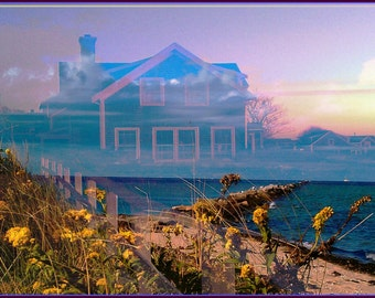 coastal art nantucket photography, a sort of fairytale